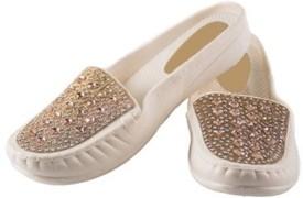 KIRLU Girls Slipper Flip Flop(Gold)