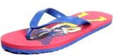 Foot Clone Blue & Red Flip Flops