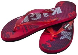 KIRLU Boys Slipper Flip Flop(Red)