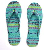 HVE Girls Slipper Flip Flop (Green)