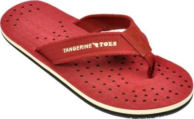 Tangerine Toes Swede B Flip Flops