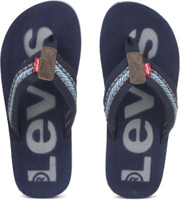 Levi's Textile Flip Flops at flipkart