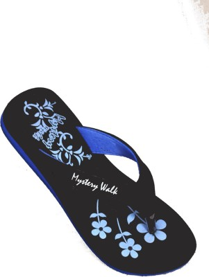 Mystery Walk Candy Blue Slippers