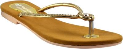 Supreme Leather Flip Flops