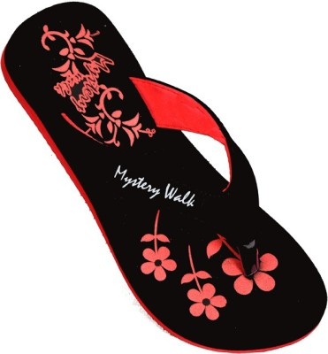 Mystery Walk Candy Red Slippers