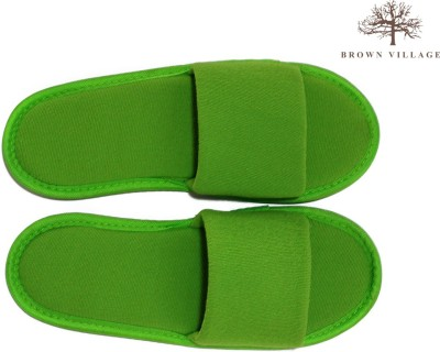 Brown Village Slippers