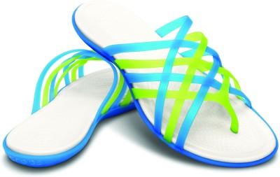 Crocs Women Blue Flats