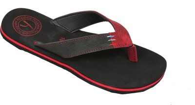 Hoppers Flip Jack Red and Black Slippers Slippers