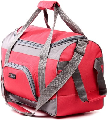Bleu Wheeler Small Travel Bag  - Standard(TB-507 Red & Grey)