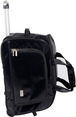 Pragmus Duffel Bag With Trolley Small Travel Bag  - Medium
