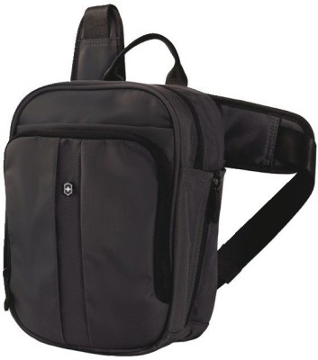 Victorinox VERTICAL DELUXE TRAVEL COMPANION Small Travel Bag - Small(Black)