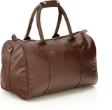 Mboss Sleek Faux leather Unisex Brown Sm...
