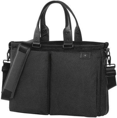 Victorinox Satchel 40 CM Expandable Laptop Tote With Tablet/eReader Pocket Small Travel Bag