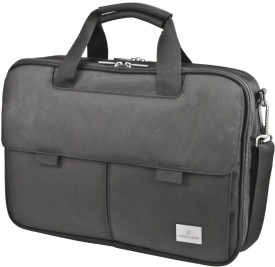Victorinox Werks Professional Director Laptop Case With Tablet Or eReader Pocket Small Travel Bag(Black)