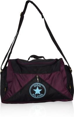 Ideal Star Duffel 25 Liters Purple Travel/Gym Duffel Bag Small Travel Bag