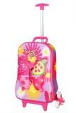T-Bags 3D Butterfly Purple Trolley Small...