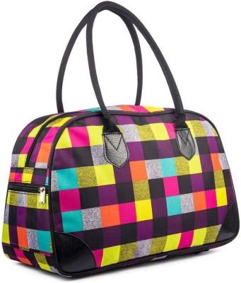 WRIG WDB068-F Black Multi Small Travel Bag