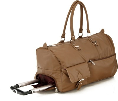 Mboss STB 002 BEIGE Small Travel Bag - Cabin Luggage(Beige)