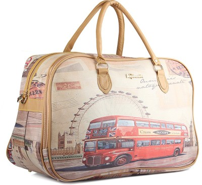 WRIG PF-WDB032-C Pink Beige Small Travel Bag  - Large