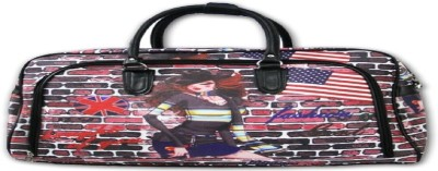 Redberry flag girl Small Travel Bag  - large