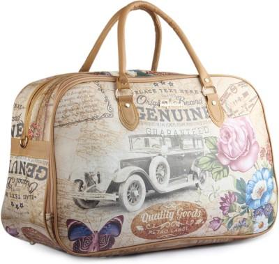 WRIG PF-WDB026-C White Beige Small Travel Bag  - Large