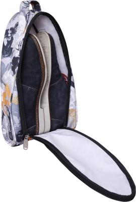 BagsRus Splash Printed Shoe Bags Small Travel Bag