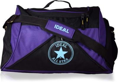 Ideal Star Duffel Purple and Black Small Travel Bag