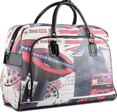 WRIG PF-WDB033-D Black Red Small Travel Bag  - Large