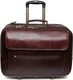 C Comfort Genuine Leather Expandable Sma...