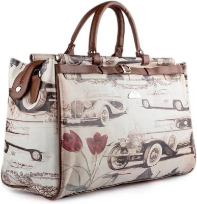 WRIG WDB055-B Brown Small Travel Bag  - Large