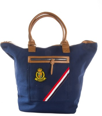 Harp Santiago Classic Tote Navy Small Travel Bag  - Large