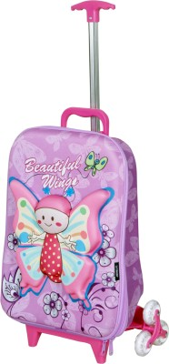 T-Bags 3D Baby Butterfly Children's Trolly Small Travel Bag  - Small