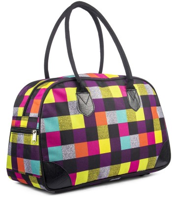 WRIG PF-WDB068-F Black Multi Small Travel Bag