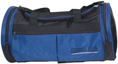 Walletsnbags Sporty Small Travel Bag  - Small(Black, Blue)