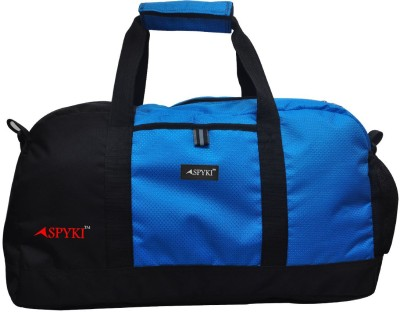 Spyki Superb Small Travel Bag - Medium(Blue, Black)