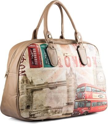 WRIG PF-WDB062-C Beige Red Small Travel Bag  - Large