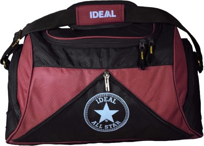 Ideal Star Duffel Red and Black /Gym Duffel Small Travel Bag  - Small