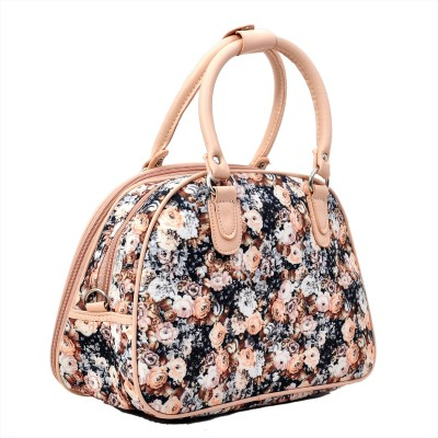 knight vogue flower print Small Travel Bag  - small