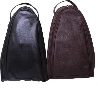 BagsRus Leatherette Shoe Bag Small Travel Bag(Multicolor)