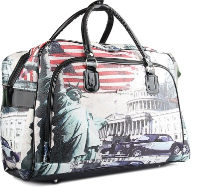 WRIG PF-WDB034-E White Red Small Travel Bag  - Large