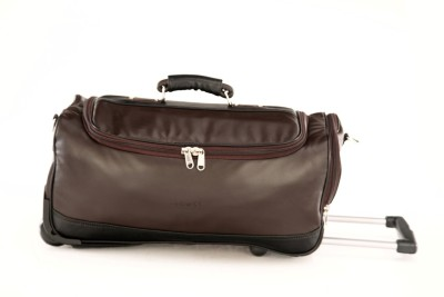 Mboss Mboss Faux Leather Wheeler Travel Duffel Bag Small Travel Bag  - Medium at flipkart
