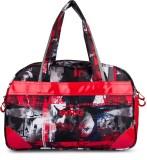WRIG Hidesign Travel Duffel Bag (Red, Bl...