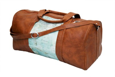 Shor Sharaba World Old Map Small Travel Bag