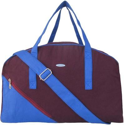 Jutecentral Lined Canvas Small Travel Bag  - Medium