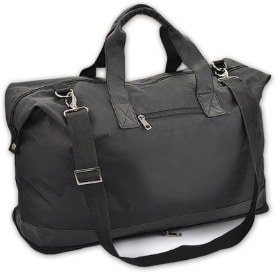 Power Plus Folding Leatherette Expandable Small Travel Bag