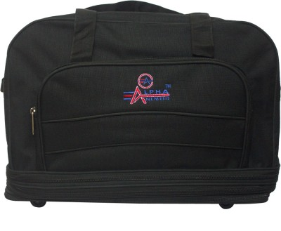 Alpha Nemesis PHA22 Expandable Small Travel Bag(Black22)