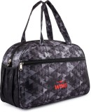 WRIG New Look Small Travel Bag (Grey, Bl...