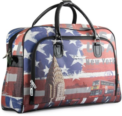WRIG PF-WDB024-A Red Blue Small Travel Bag  - Large