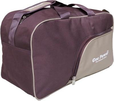 Gee Power Mauve Light Brown Gym Bag