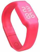 ZVR FLIPFIT Fitness 3D PeDometer Sleep Temperature Calorie Monitor Time Display Silicon Without SpeeDometer(Pink)